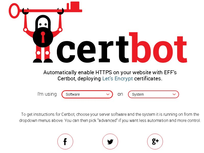 certbot free ssl install